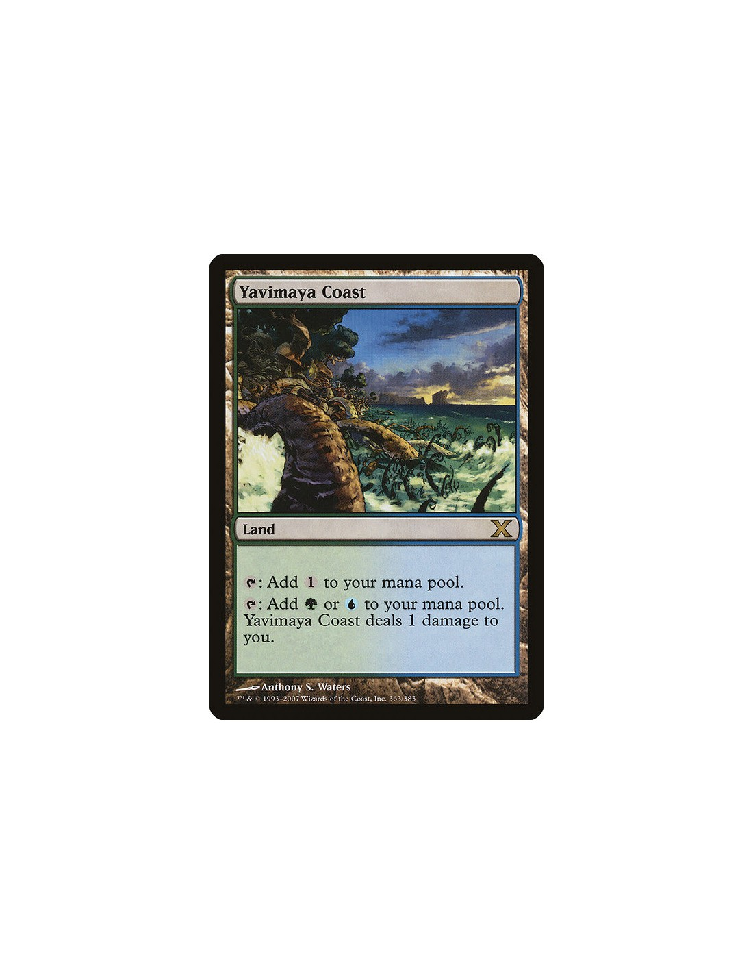 Yavimaya Coast En Tenth Edition Magicmonk Gr 246 Sster