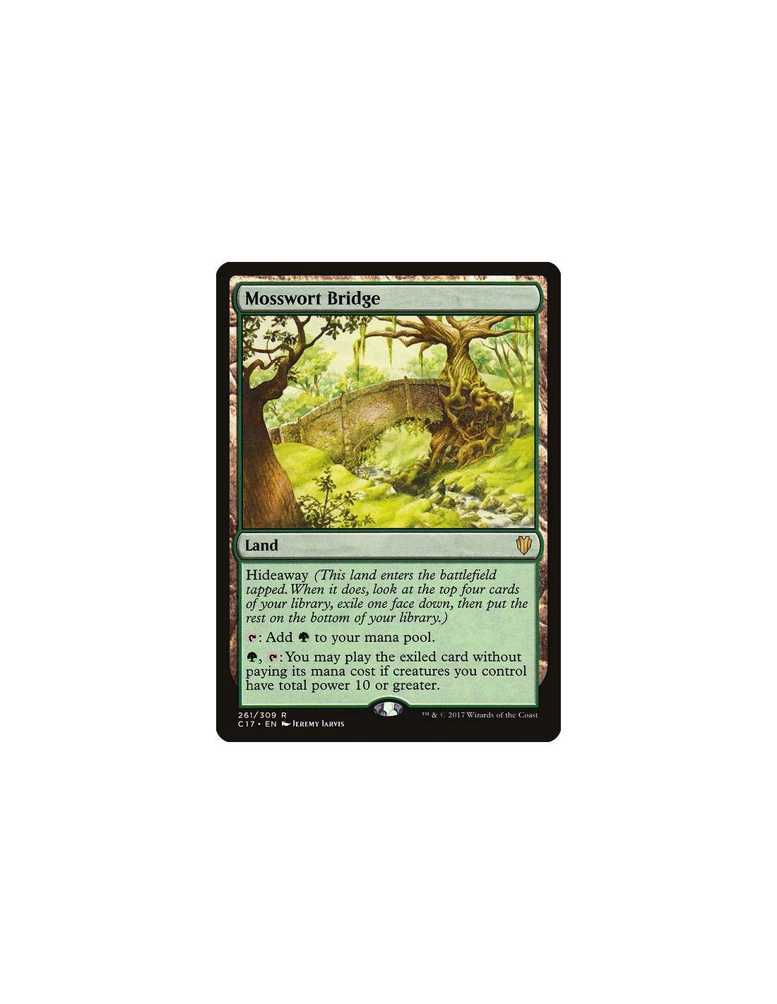 Mosswort Bridge En Commander 2017 Magicmonk