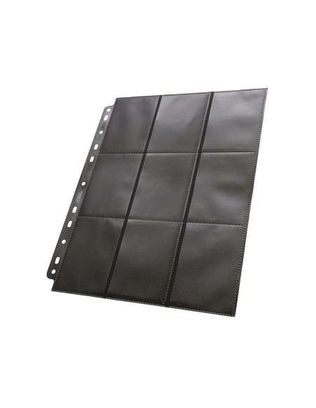 Ultimate Guard 18-Pocket Pages Side-Loading Schwarz (50)-img3