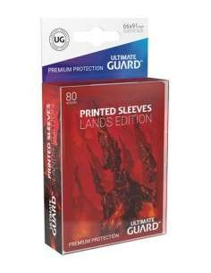 Ultimate Guard Printed Sleeves Standardgrösse Lands Edition Gebirge I (80)-img2