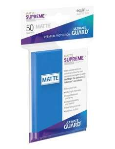 Ultimate Guard Supreme UX Sleeves Standardgrösse Matt Königsblau (50)-img2