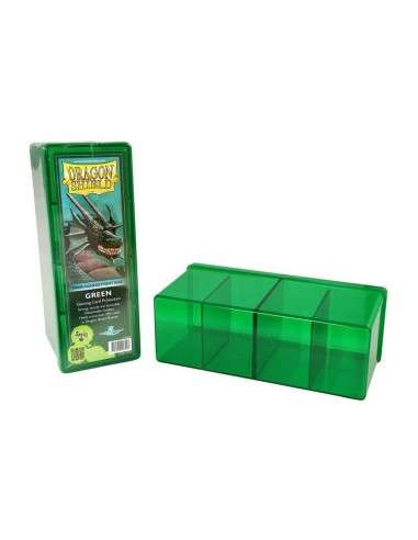 Dragon Shield - 4 Compartment Storage Box - Green