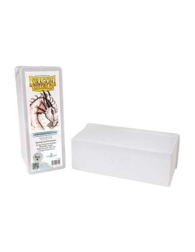 Dragon Shield - 4 Compartment Storage Box - White