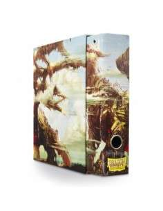 Dragon Shield Slipcase Binder - Umber 'Rodinion'