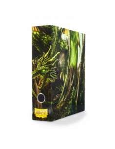 Dragon Shield Slipcase Binder - Green 'Radix'