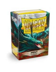 Dragon Shield Standard Sleeves - Classic Mint (100 Sleeves)