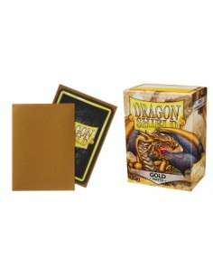 Dragon Shield Standard Sleeves - Matte Gold (100 Sleeves)