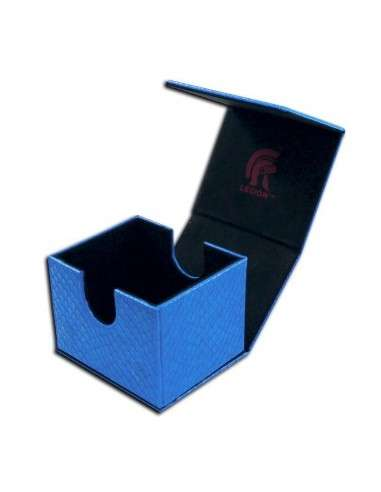Legion - Deckbox - Hoard V2 Dragon Hide Blue