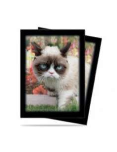 Ultra Pro - Standard Sleeves - Grumpy Cat Flowers (50 Sleeves)
