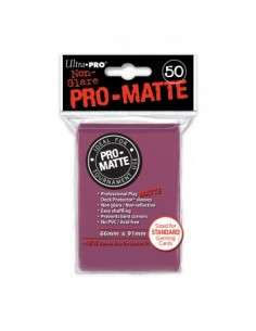 Ultra Pro - Standard Sleeves - PRO-Matte - Blackberry (50 Sleeves)
