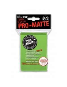 Ultra Pro - Standard Sleeves - PRO-Matte - Lime Green (50 Sleeves)