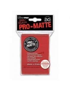 Ultra Pro - Standard Sleeves - PRO-Matte - Red (50 Sleeves)