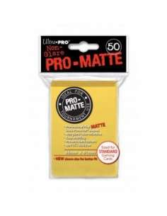 Ultra Pro - Standard Sleeves - PRO-Matte - Yellow (50 Sleeves)