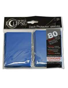 Ultra Pro - Standard Sleeves - PRO-Matte Eclipse - Blue (80 Sleeves)