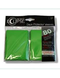 Ultra Pro - Standard Sleeves - PRO-Matte Eclipse - Green (80 Sleeves)