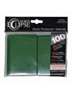Ultra Pro - Standard Sleeves - PRO-Matte Eclipse - Forest Green (100 Sleeves)