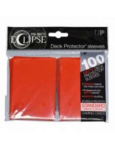 Ultra Pro - Standard Sleeves - PRO-Matte Eclipse - Apple Red (100 Sleeves)