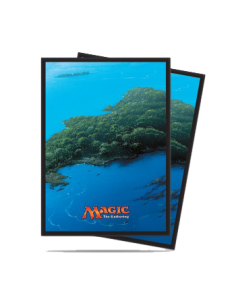 Ultra Pro - Standard Sleeves - Mana 5 Insel (80 Sleeves)