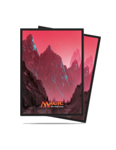 Ultra Pro - Standard Sleeves - Mana 5 Gebirge (80 Sleeves)
