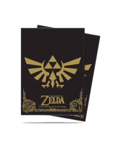 Ultra Pro - Standard Sleeves - The Legend of Zelda: Black and Gold (65 Sleeves)
