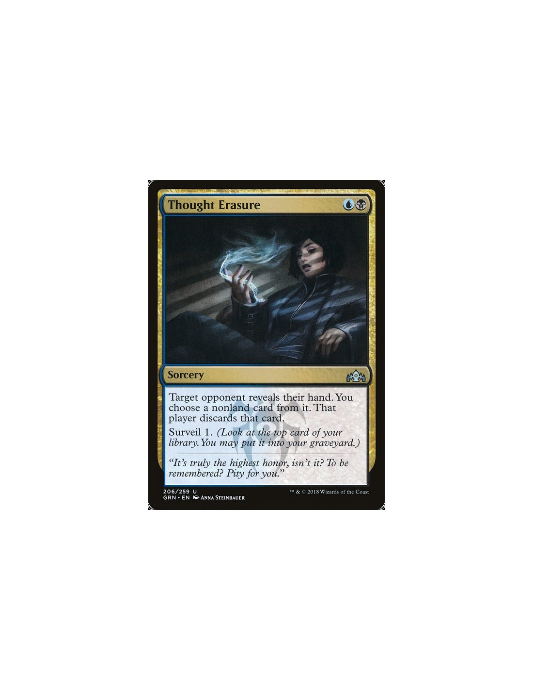 Thought Erasure En Guilds Of Ravnica Magicmonk