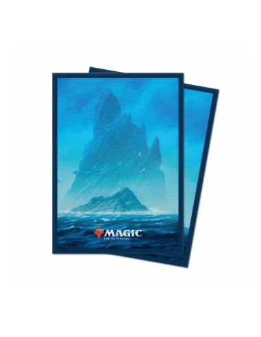 Ultra Pro - Standard Deck Protector - Unstable Lands Island (100 Sleeves)