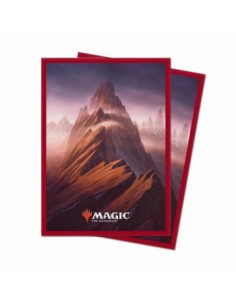 Ultra Pro - Standard Deck Protector - Unstable Lands Mountain (100 Sleeves)
