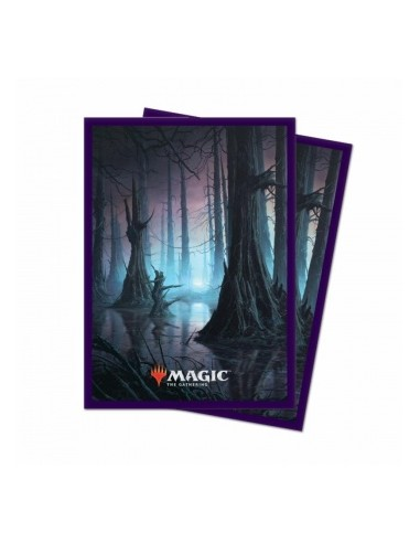 Ultra Pro - Standard Deck Protector - Unstable Lands Swamp (100 Sleeves)