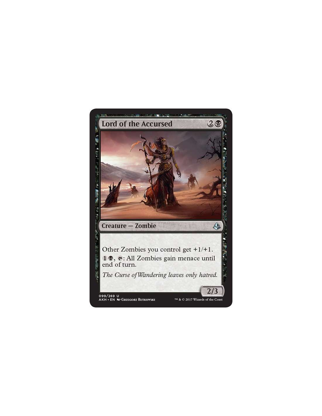 Lord Of The Accursed En Amonkhet Magicmonk