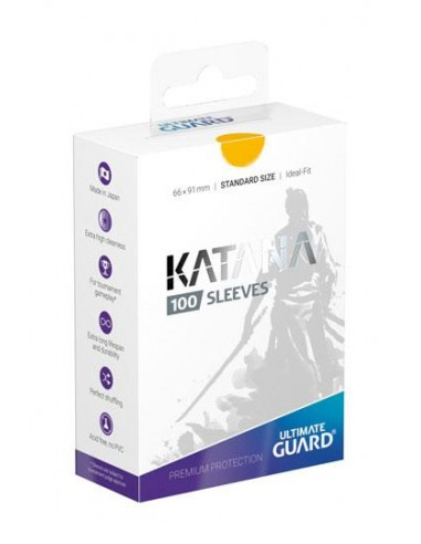 Ultimate Guard Katana Sleeves Standardgröße Gelb (100)