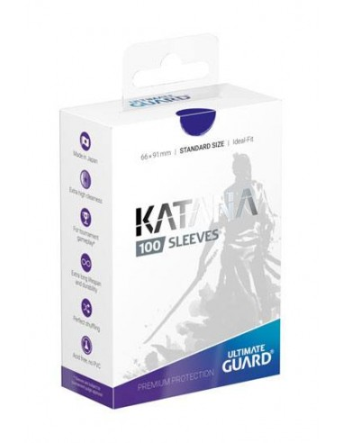 Ultimate Guard Katana Sleeves Standardgröße Blau (100)