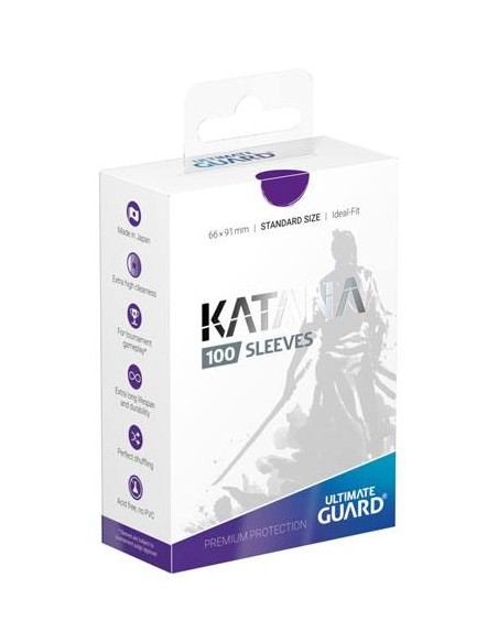 Ultimate Guard Katana Sleeves Standardgröße Violett (100)