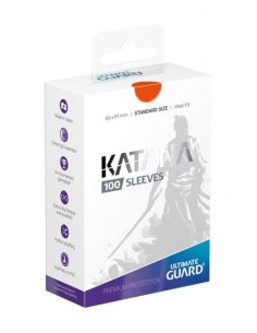 Ultimate Guard Katana Sleeves Standardgröße Orange (100)