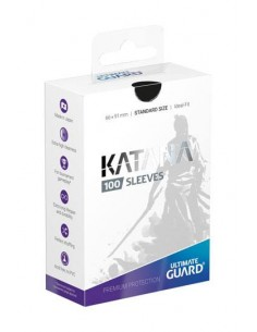 Ultimate Guard Katana Sleeves Standardgröße Schwarz (100)