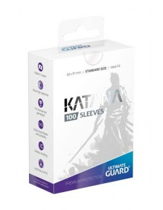 Ultimate Guard Katana Sleeves Standardgröße Transparent (100)