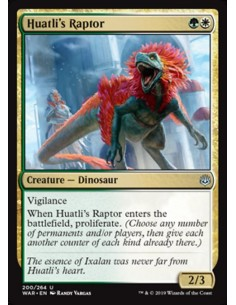 Huatli's-Raptor-war