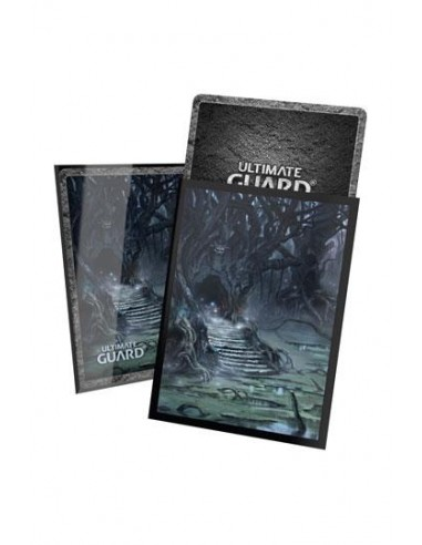Ultimate Guard Printed Sleeves Standardgrösse Lands Edition Sumpf II (100 Sleeves)