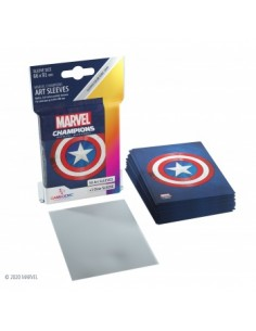 Gamegenic - Art Sleeves - Captain America - (50 Sleeves)